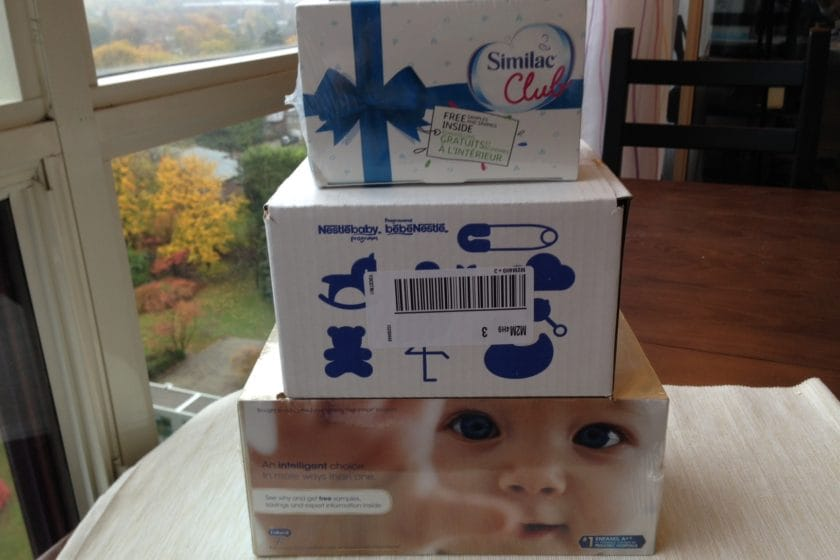 Freebies for new mom in Toronto