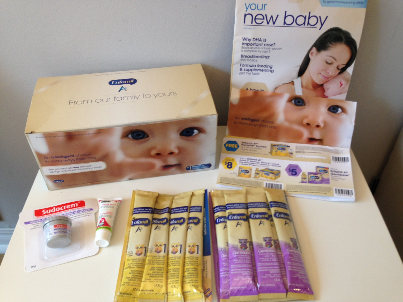 Freebies for new moms: Enfomil giveaway