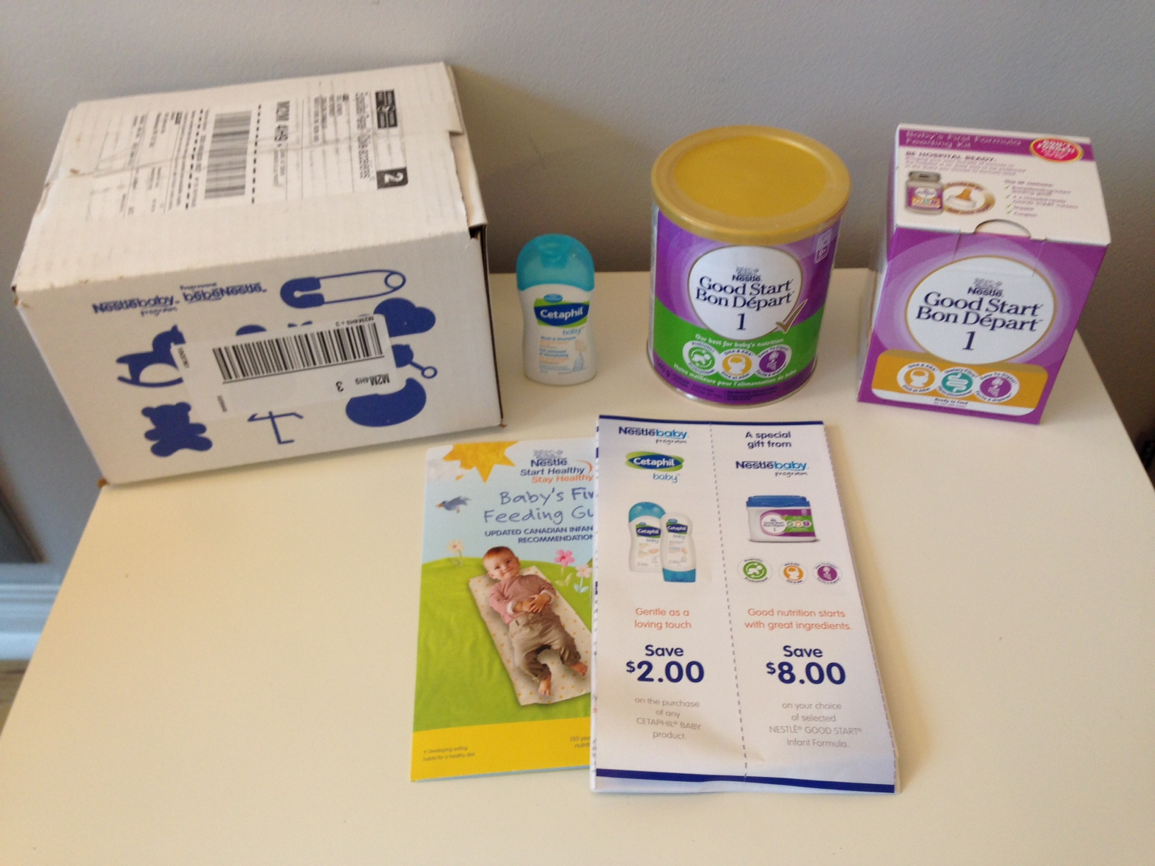 Freebies for new moms: Nestle giveaway
