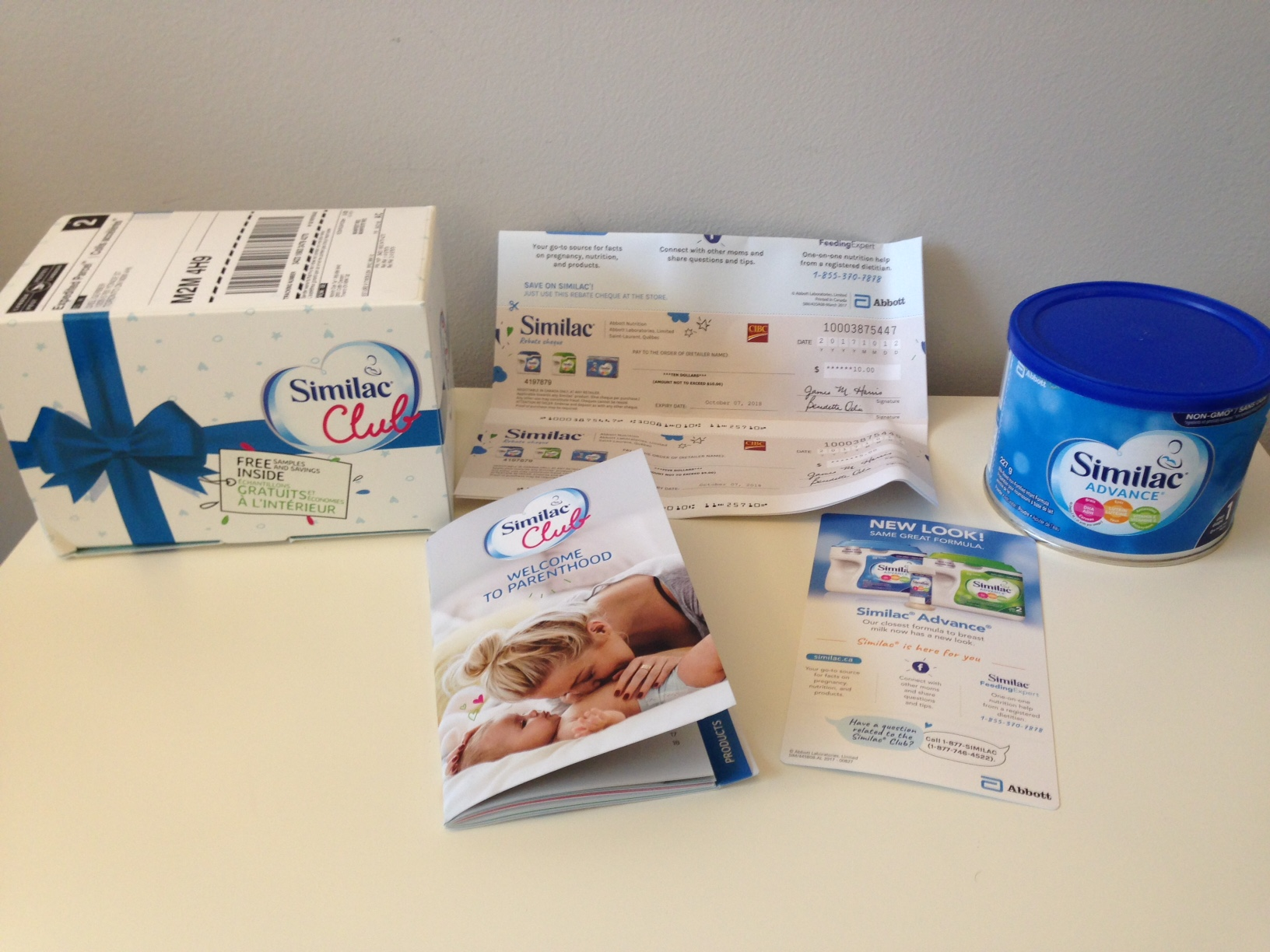 Freebies for new moms: Similac giveaway