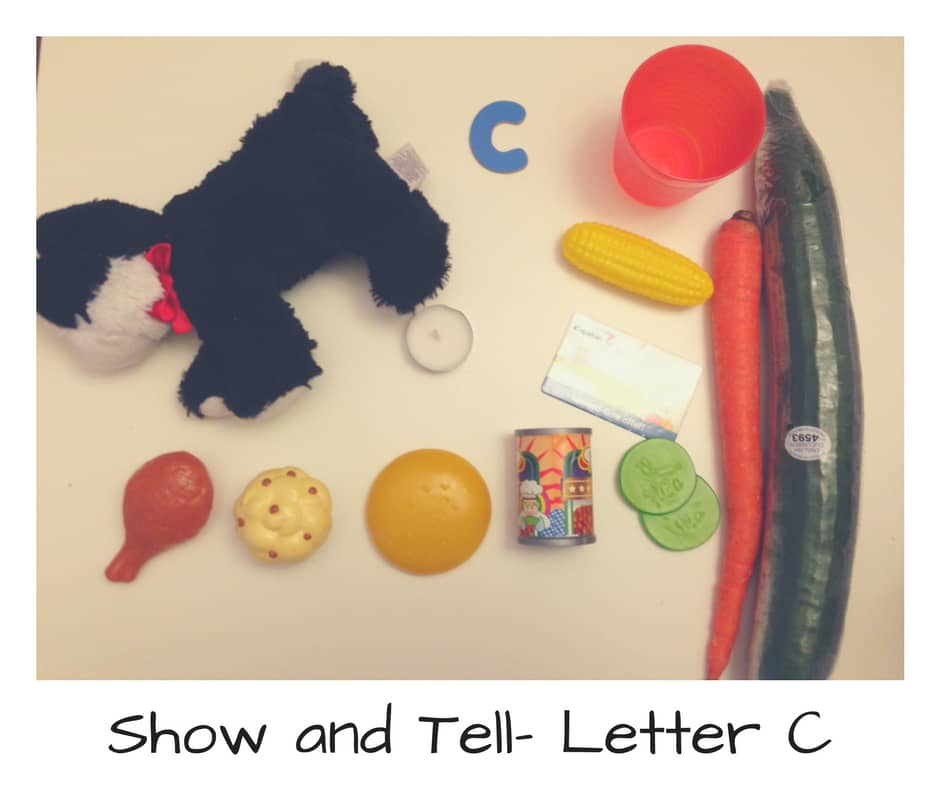 show and tell for letter x