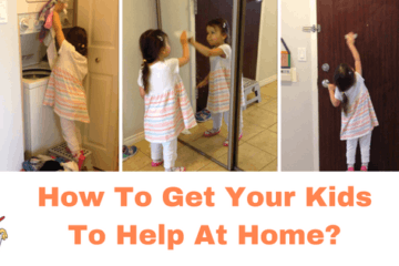 How to get your kids to help at home?