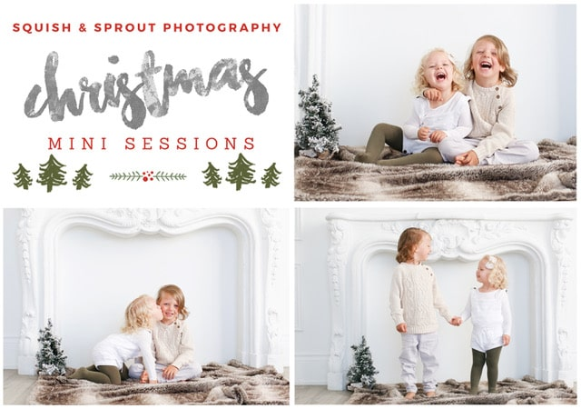 2018 Christmas Photography Sessions for kids in Toronto