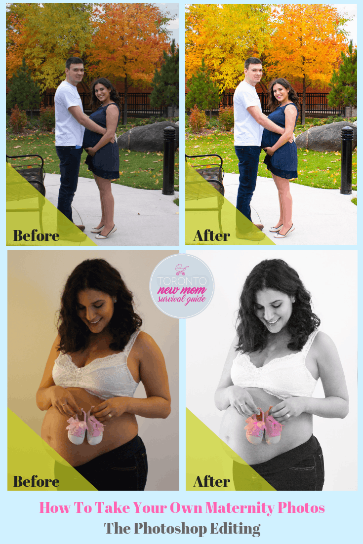 How To Take Your Own Maternity Photos- Photo 1