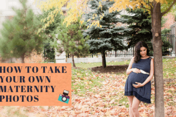 How To Take Your Own Maternity Photos