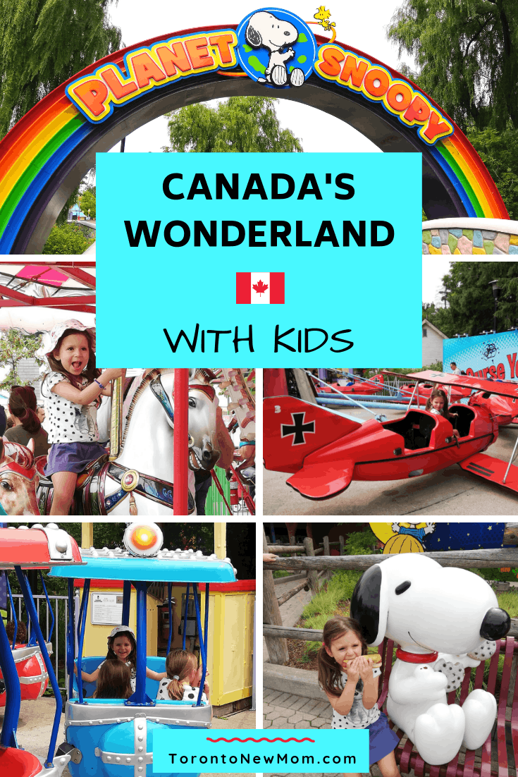 Canada's Wonderland with kids